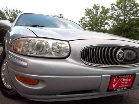 2004 Buick LeSabre for sale at 1st Choice Auto Sales in Fairfax VA