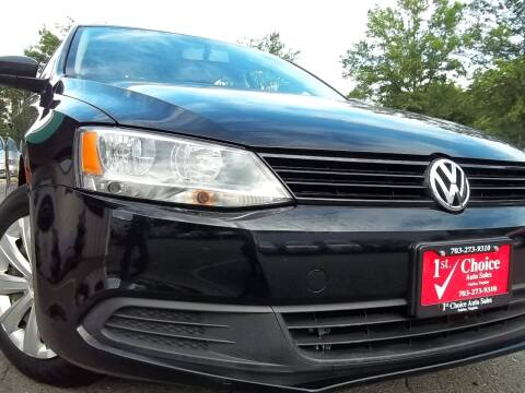 2014 Volkswagen Jetta for sale at 1st Choice Auto Sales in Fairfax VA