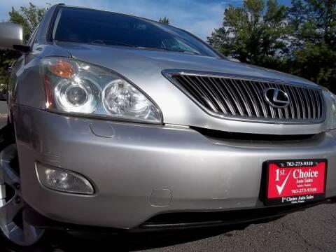 2004 Lexus RX 330 for sale at 1st Choice Auto Sales in Fairfax VA