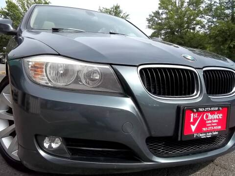 2011 BMW 3 Series for sale at 1st Choice Auto Sales in Fairfax VA