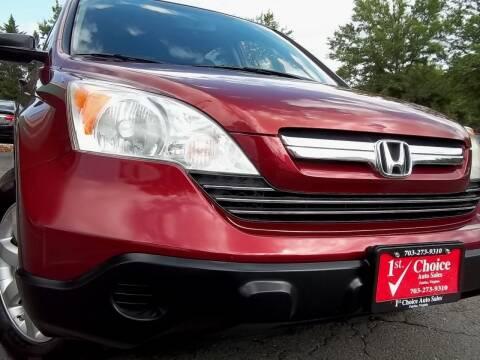 2008 Honda CR-V for sale at 1st Choice Auto Sales in Fairfax VA