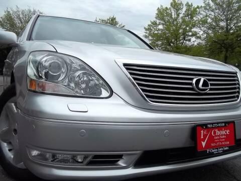 2004 Lexus LS 430 for sale at 1st Choice Auto Sales in Fairfax VA