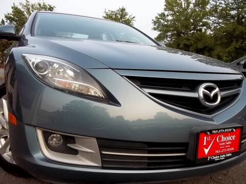 2012 Mazda MAZDA6 for sale at 1st Choice Auto Sales in Fairfax VA
