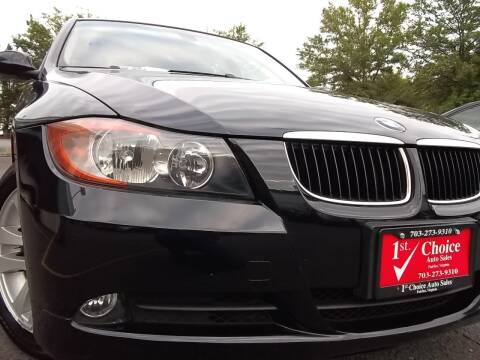 2007 BMW 3 Series for sale at 1st Choice Auto Sales in Fairfax VA