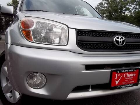 2004 Toyota RAV4 for sale at 1st Choice Auto Sales in Fairfax VA