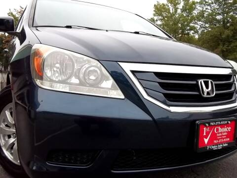 2010 Honda Odyssey for sale at 1st Choice Auto Sales in Fairfax VA