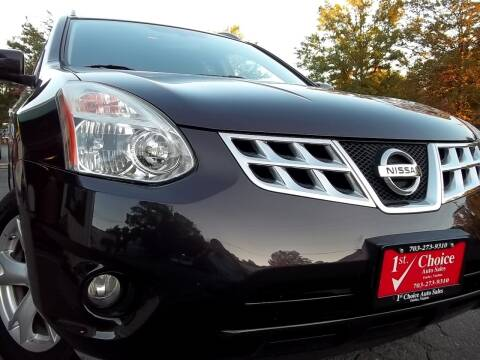 2011 Nissan Rogue for sale at 1st Choice Auto Sales in Fairfax VA
