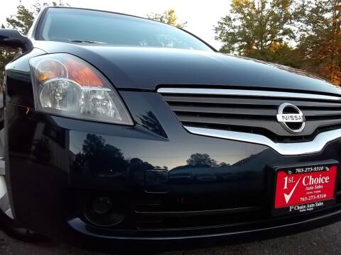 2008 Nissan Altima for sale at 1st Choice Auto Sales in Fairfax VA