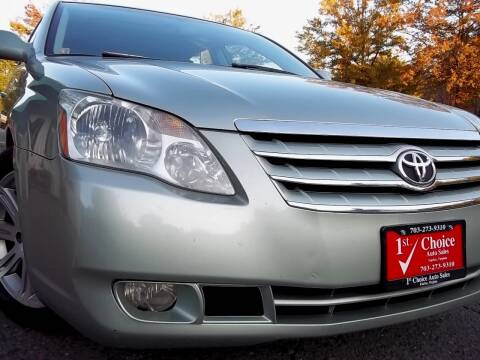 2006 Toyota Avalon for sale at 1st Choice Auto Sales in Fairfax VA