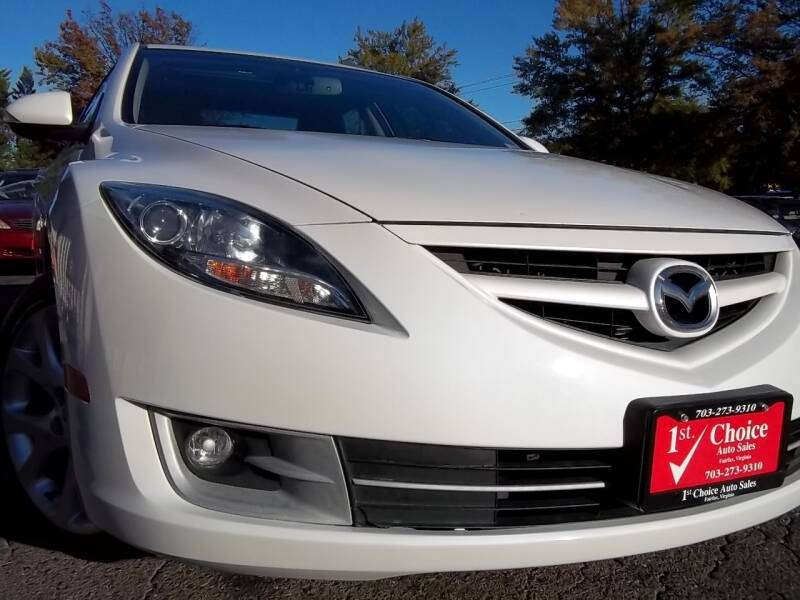 2013 Mazda MAZDA6 for sale at 1st Choice Auto Sales in Fairfax VA