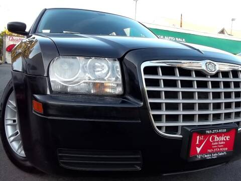 2007 Chrysler 300 for sale at 1st Choice Auto Sales in Fairfax VA