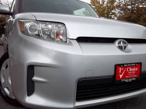 2012 Scion xB for sale at 1st Choice Auto Sales in Fairfax VA
