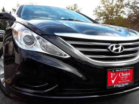 2014 Hyundai Sonata for sale at 1st Choice Auto Sales in Fairfax VA