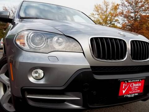 2009 BMW X5 for sale at 1st Choice Auto Sales in Fairfax VA