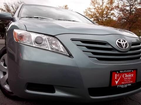 2008 Toyota Camry for sale at 1st Choice Auto Sales in Fairfax VA