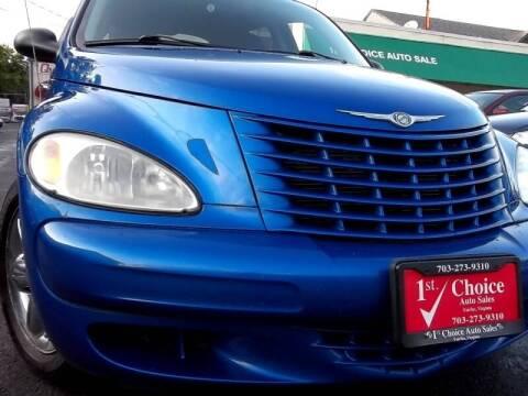 2004 Chrysler PT Cruiser for sale at 1st Choice Auto Sales in Fairfax VA