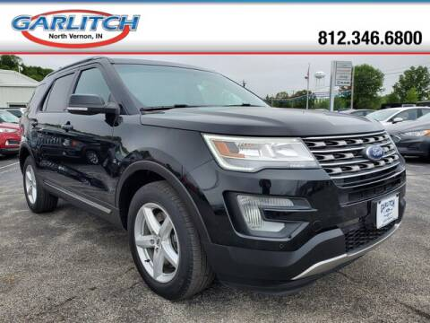 2017 Ford Explorer XLT for sale at Garlitch Ford Chrysler Dodge Jeep Ram in North Vernon IN