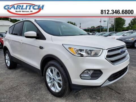 2017 Ford Escape SE for sale at Garlitch Ford Chrysler Dodge Jeep Ram in North Vernon IN