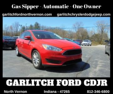 2015 Ford Focus for sale in North Vernon, IN