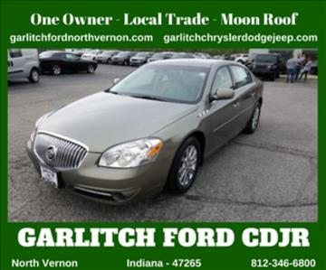 2010 Buick Lucerne for sale in North Vernon, IN
