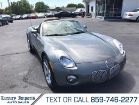 2006 Pontiac Solstice for sale in Florence, KY