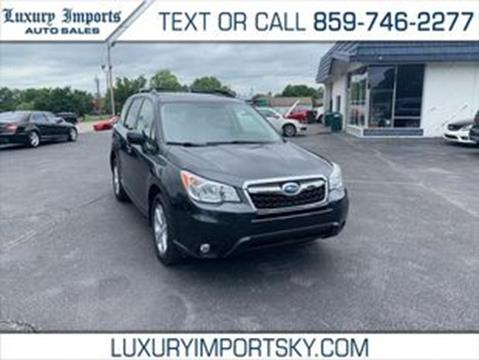 2015 Subaru Forester for sale in Florence, KY