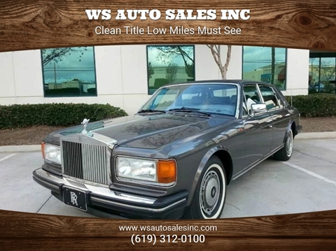 1990 Rolls-Royce Silver Spur for sale in El Cajon, CA