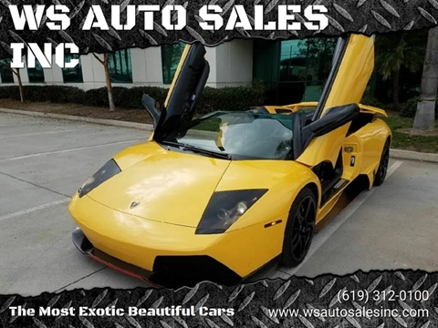 Used Lamborghini Murcielago For Sale In Reno Nv Carsforsale Com