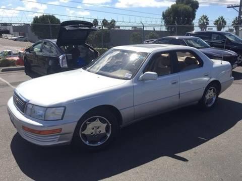 1994 Lexus LS 400 For Sale In El Cajon, CA