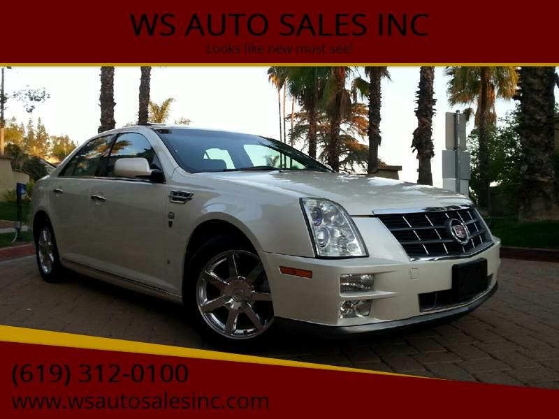 2008 Cadillac Sts V8 4dr Sedan In El Cajon Ca Ws Auto Sales Inc