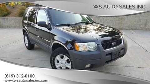 2004 Ford Escape for sale in El Cajon, CA
