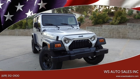 2006 Jeep Wrangler for sale in El Cajon, CA
