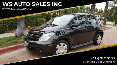 2004 Scion xA for sale at WS AUTO SALES INC in El Cajon CA