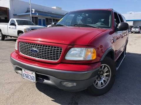 2000 Ford Expedition XLT for sale at WS AUTO SALES INC in El Cajon CA
