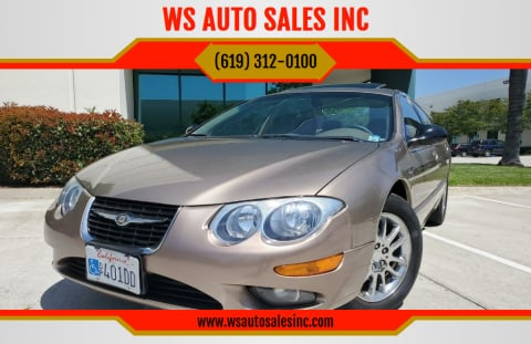 2001 Chrysler 300M for sale at WS AUTO SALES INC in El Cajon CA