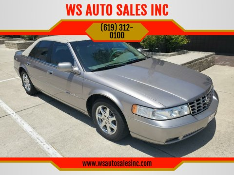 1999 Cadillac Seville STS for sale at WS AUTO SALES INC in El Cajon CA
