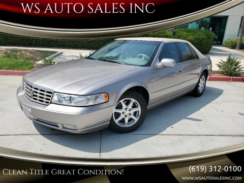 1999 Cadillac Seville for sale at WS AUTO SALES INC in El Cajon CA