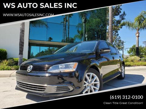 2012 Volkswagen Jetta for sale at WS AUTO SALES INC in El Cajon CA