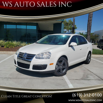 2010 Volkswagen Jetta for sale at WS AUTO SALES INC in El Cajon CA