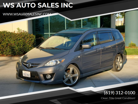 2009 Mazda MAZDA5 for sale at WS AUTO SALES INC in El Cajon CA