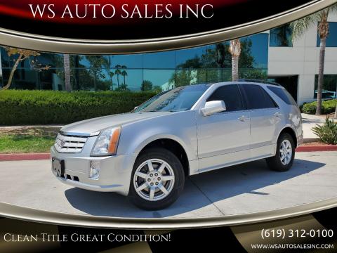 2008 Cadillac SRX for sale at WS AUTO SALES INC in El Cajon CA