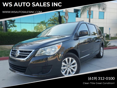 2012 Volkswagen Routan for sale at WS AUTO SALES INC in El Cajon CA
