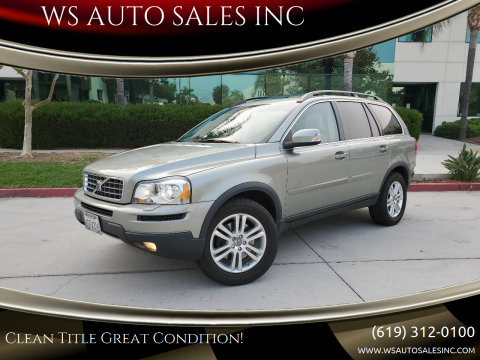 2008 Volvo XC90 for sale at WS AUTO SALES INC in El Cajon CA