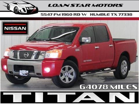 Nissan used cars pickup trucks for sale humble loan star for Loan star motors 2