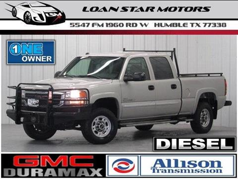 2005 GMC Sierra 2500HD for sale in Humble, TX