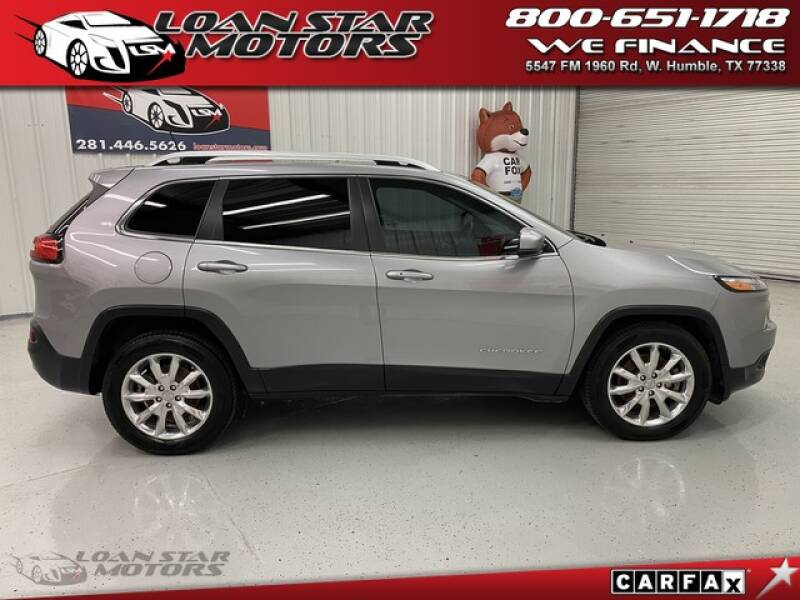 2016 Jeep Cherokee Limited 4dr SUV - Humble TX