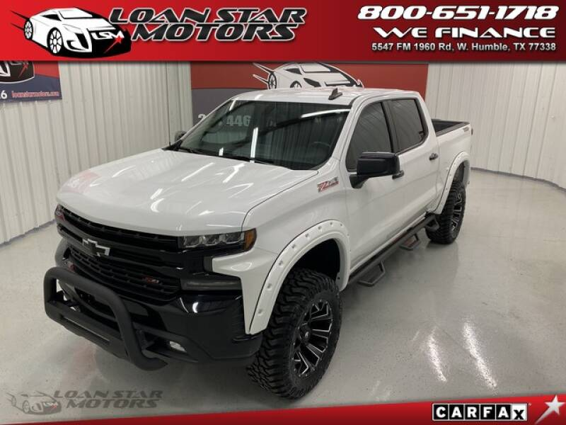 2019 Chevrolet Silverado 1500 LT Trail Boss W/New Fabtech Lift - Humble TX