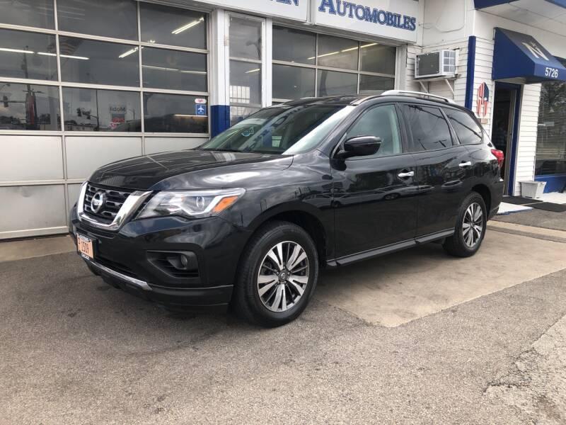 2017 Nissan Pathfinder for sale at Jack E. Stewart's Northwest Auto Sales, Inc. in Chicago IL