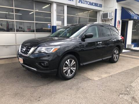 2017 Nissan Pathfinder for sale at Jack E. Stewart's Northwest Auto Sales, Inc. in Chicago IL