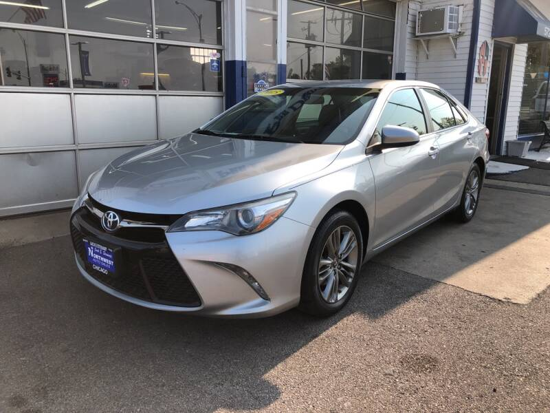 2015 Toyota Camry for sale at Jack E. Stewart's Northwest Auto Sales, Inc. in Chicago IL